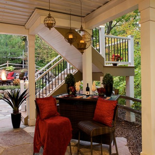 Patio Under Deck Houzz