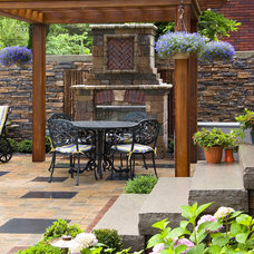 Asian Patio by K West Images, Interior and Garden Photography