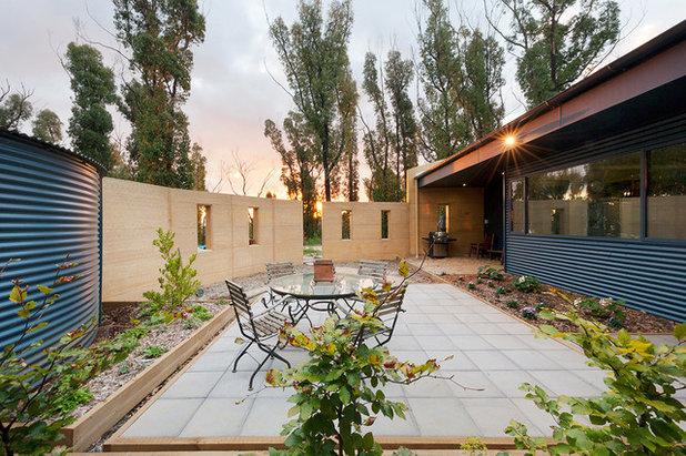 コンテンポラリー テラス・中庭 by Eco Sustainable Homes