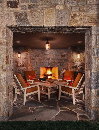 Traditional Patio by Kathleen McGovern Studio of Interior Design