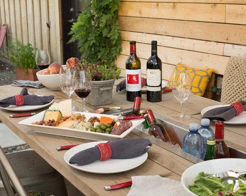 Petite cuisine ext rieure campagne photos et id es d co de cuisines ext rie - Idee cuisine exterieure ...
