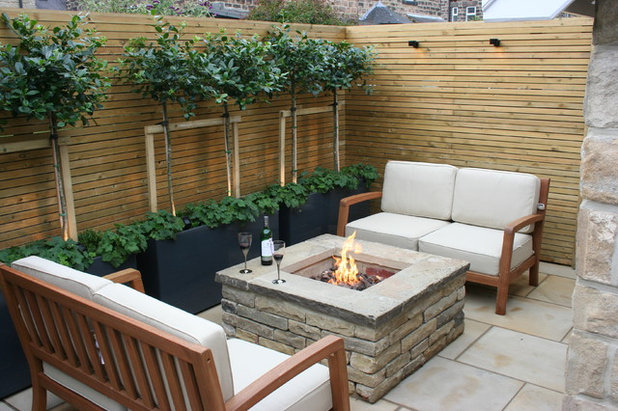 Contemporary Patio by Bestall & Co Landscape Design