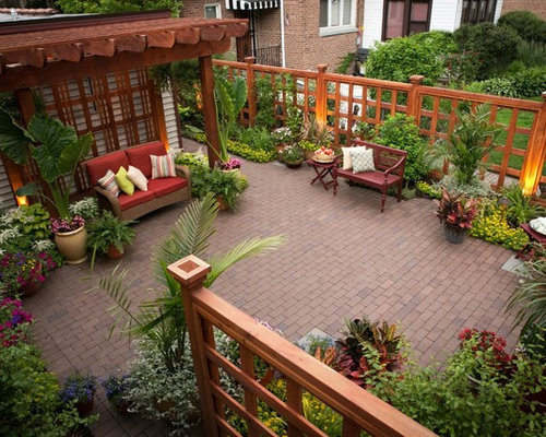 Brick Patio Ideas Houzz