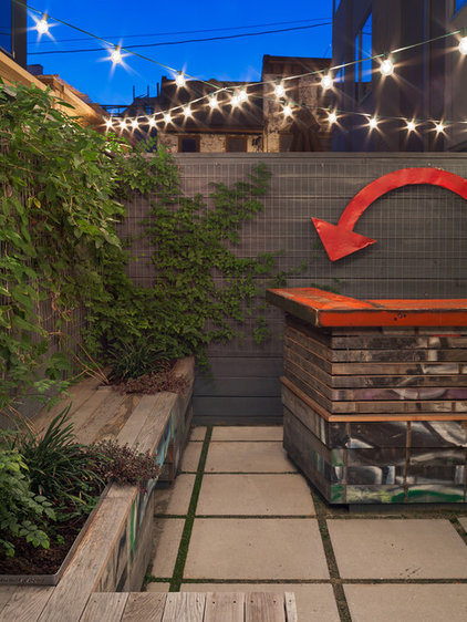 Contemporary Patio by Otto Architects LLC