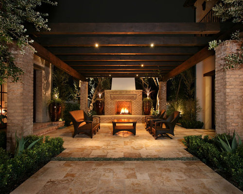 Exposed Beam Patio Cover Houzz