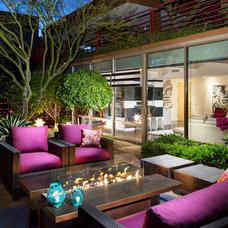 Contemporary Patio by IMI Design, LLC