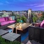 Conrad Residence Contemporary Patio Phoenix By