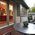 Tarrytown Residence Midcentury Patio Austin By