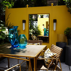 Eclectic Patio by Michael Tavano Design