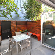 Contemporary Patio by KUBE architecture
