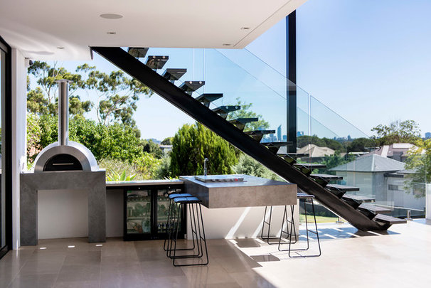 Contemporary Patio by D-Max Photography