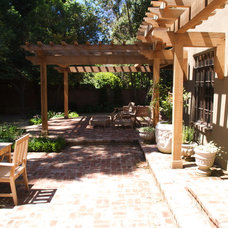 Traditional Patio by Elements Landscape Inc