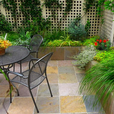 Contemporary Patio by Garden Fantasia