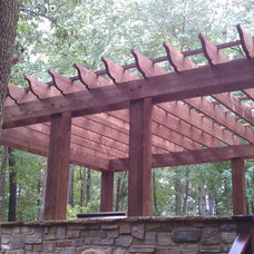 Traditional Patio by Kingdom Builders