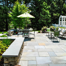 Traditional Patio by Natural Stone Wall Solutions, Inc.