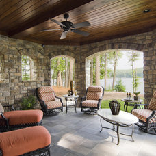 Contemporary Patio by Carolina Design Associates, LLC