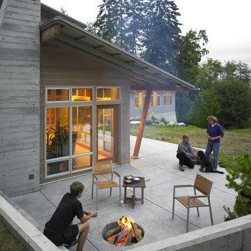 Vashon Residence patio
