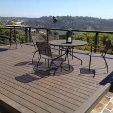 Modern Patio by San Diego Cable Railings
