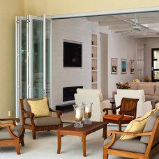 Modern Patio by LaCantina Doors