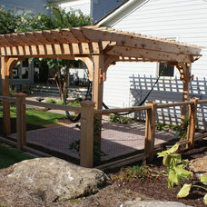 Traditional Patio by Outdoor Management Company