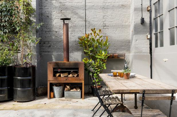 Industriel Terrasse et Patio by Imperfect Interiors