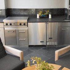Traditional Patio by K.W.A Appliances