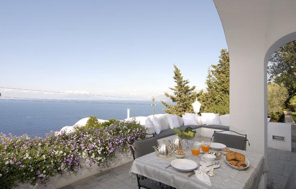 Mediterranean Patio by Fabrizia Frezza Architecture & Interiors