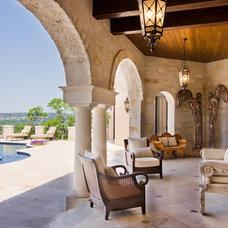 Mediterranean Patio by My Villa Austin