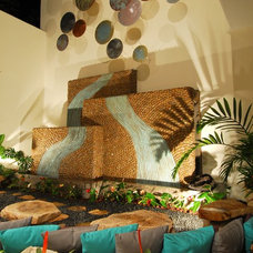 Eclectic Patio by JEM4 design