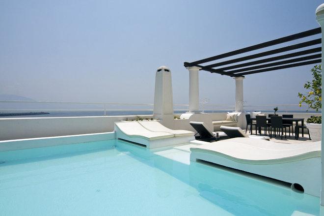 Mediterranean Exterior by Fabrizia Frezza Architecture & Interiors