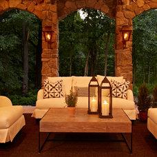 Traditional Patio by VanBrouck & Associates, Inc.