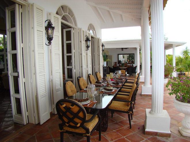 Tropical Patio Villa Mille Fleurs, St. Martin, French West Indies