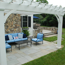 Traditional Patio by B.DeMichele Inc.