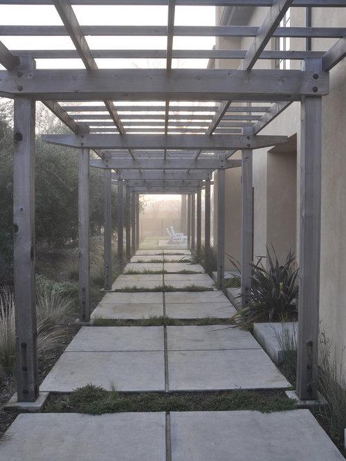 Pergola Walkway Houzz