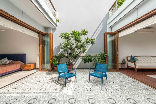 Asian Patio by Shreya Krishnan Design