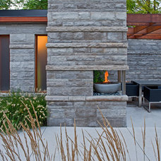 Contemporary Patio by Peter A. Sellar - Architectural Photographer