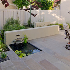Traditional Patio by Envision Landscape Studio