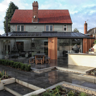 Inspiration for a medium sized contemporary patio in West Midlands.