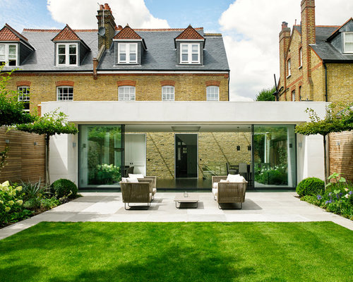 Semi Detached Patio Ideas Design Photos Houzz