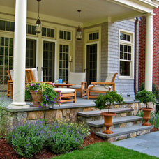 traditional patio by Warner Larson