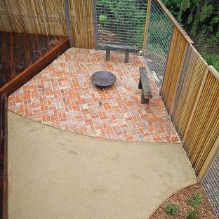 Foto di un patio o portico rustico