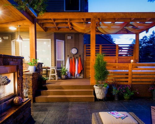Hot Tub Privacy Ideas, Pictures, Remodel and Decor