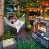 Outdoor Room of the Day: This Patio Cooks, Even in the Rain