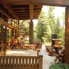 Rustic Patio by Shepherd Resources Inc / AIA