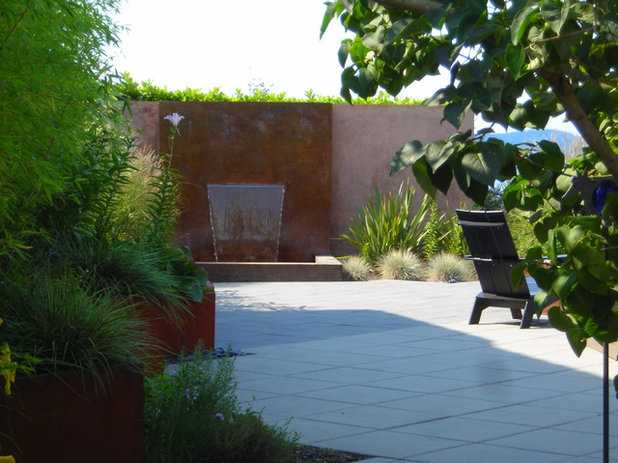 Contemporary Patio by Greener Living Solutions  Inc