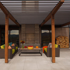 Contemporary Patio by Carney Logan Burke Architects