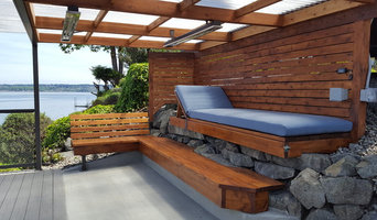 Waterfront Deck Living - the Grotto - Retaining Wall with a Purpose
