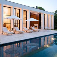 Modern Patio by Michael Haverland Architect