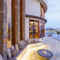Contemporary Patio by Christopher Design