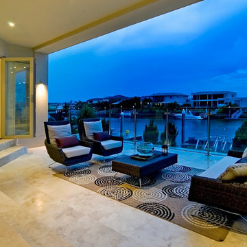 Waterfront Luxury 'Hope Island' Residence Two Story